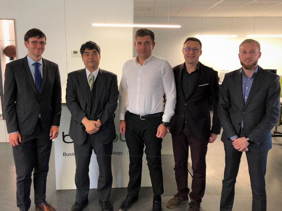 SmartCityVilnius meets  Matoyuki Matsunaga from the Institute of International Socio-Economic Studies